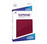 Протекторы Ultimate Guard, тёмно-красные (Supreme UX Sleeves Standard Size Burgundy)