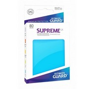 Протекторы Ultimate Guard, голубые (Supreme UX Sleeves Standard Size Light Blue)