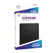 Протекторы Ultimate Guard, матовые чёрные (Supreme UX Sleeves Standard Size Matte Black)