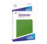 Протекторы Ultimate Guard, матовые зелёные (Supreme UX Sleeves Standard Size Matte Green)