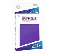 Протекторы Ultimate Guard, матовые фиолетовые (Supreme UX Sleeves Standard Size Matte Purple)