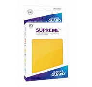 Протекторы Ultimate Guard, жёлтые (Supreme UX Sleeves Standard Size Yellow)