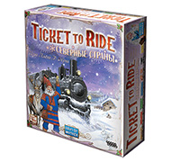 Настольная игра Билет на поезд по Северным Странам (Ticket to Ride: Nordic Countries)