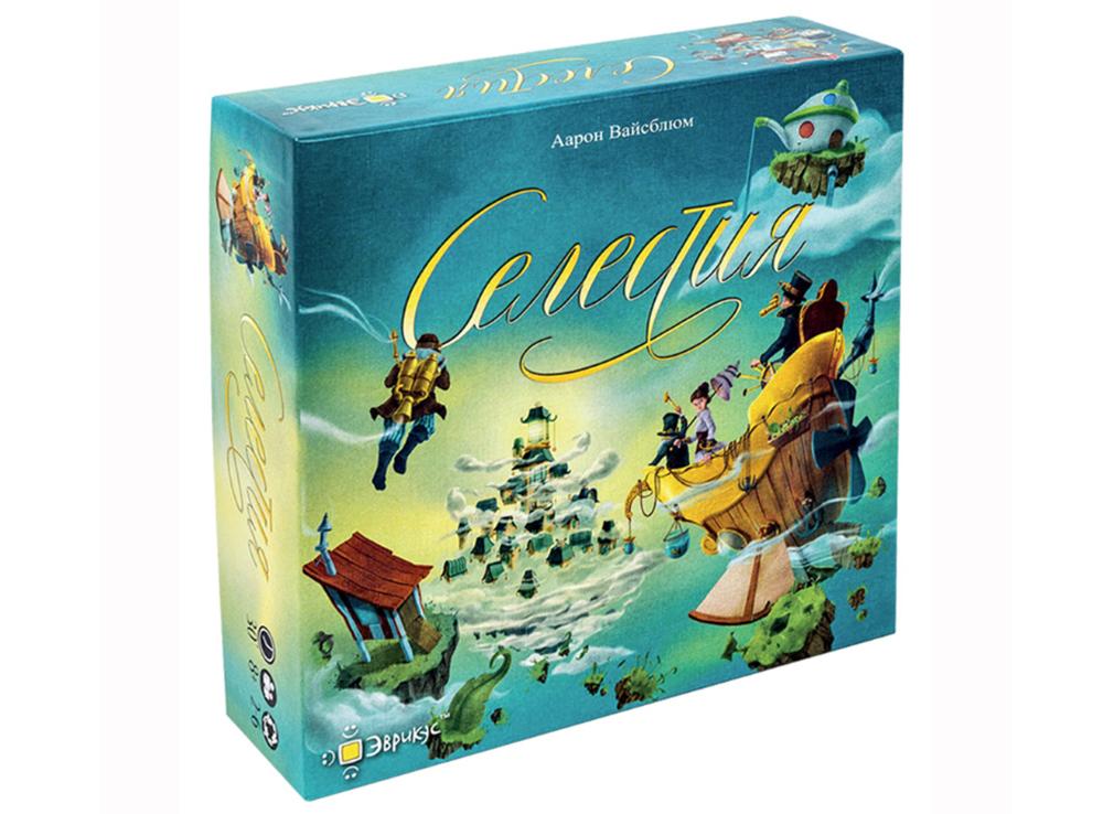 Коробка настольной игры Селестия