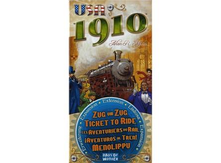 Игра Билет на Поезд: США 1910 (Ticket to Ride USA 1910, дополнение)
