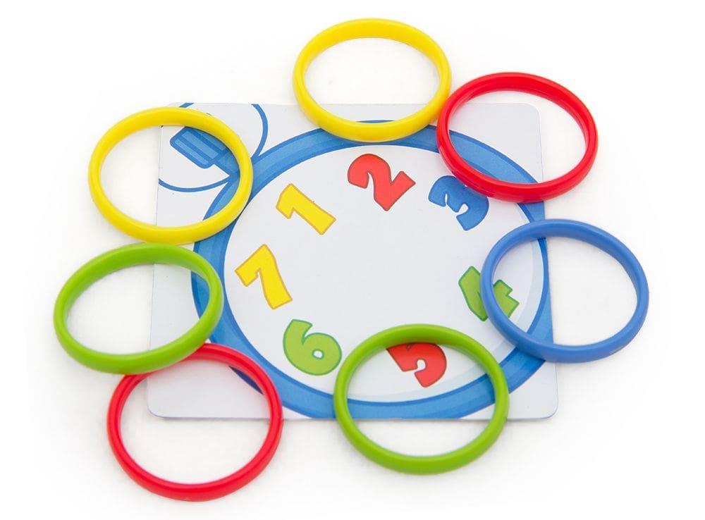 Игровой процесс настольной игры Разноцветные колечки (Rings Up)