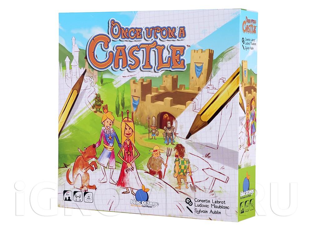 Коробка настольной игры Однажды в замке (Once upon a castle)