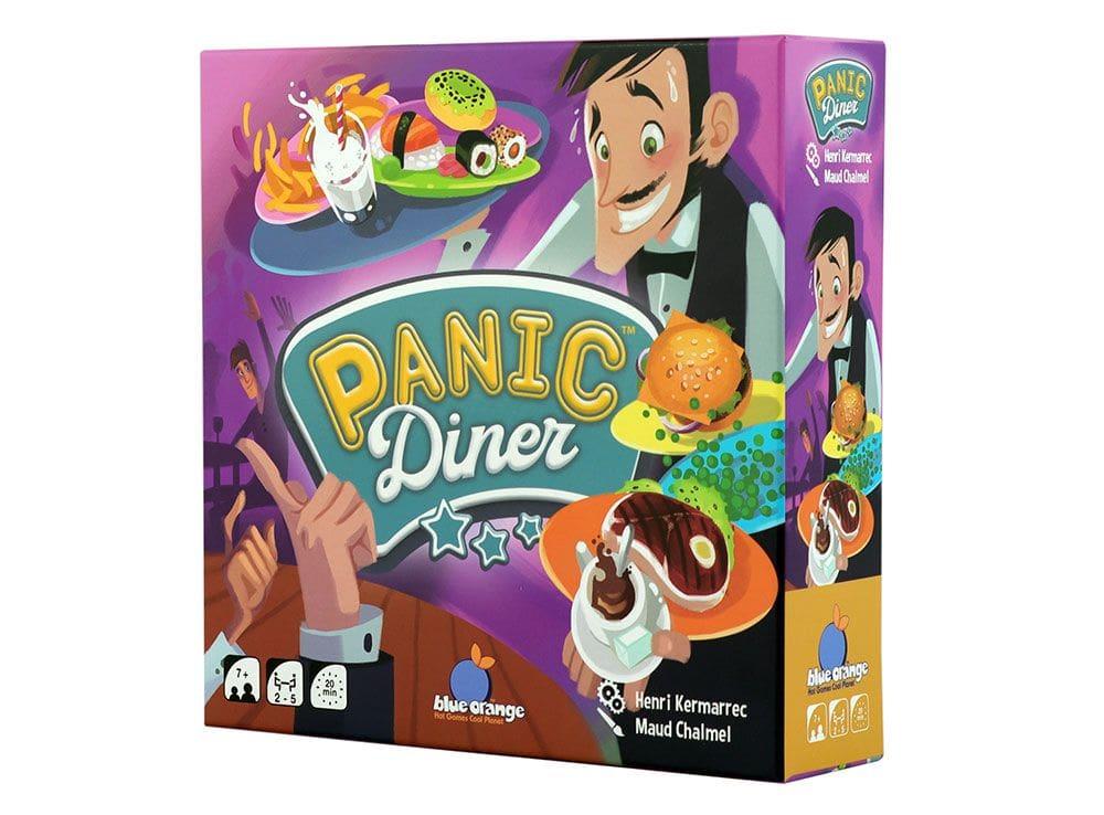 Коробка настольной игры Паника в ресторане!