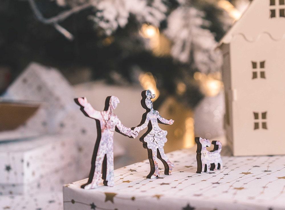 Фигурки пазла Зимние сны