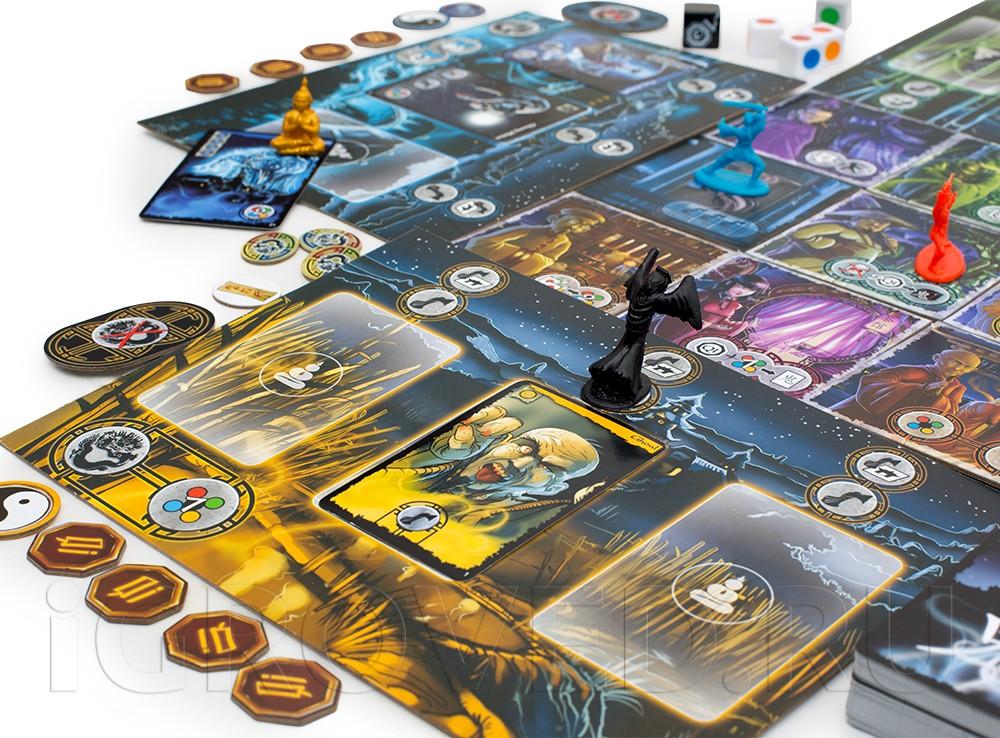 Игровой процесс настольной игры Истории с призраками