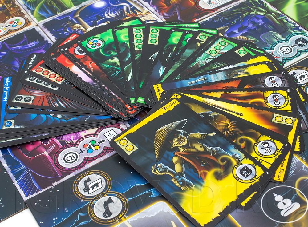 Карточки настольной игры Истории с призраками