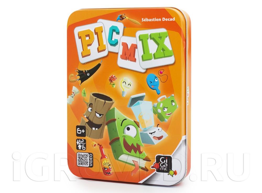 Коробка настольной игры Пикмикс (Рicmix)