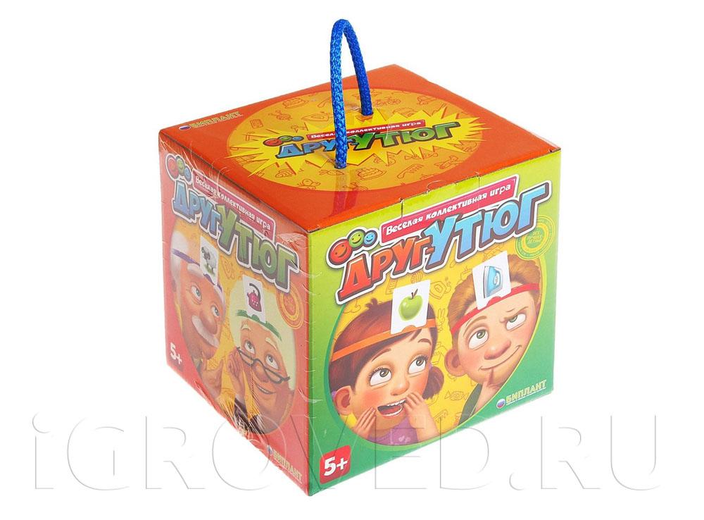 Коробка настольной игры Друг-утюг