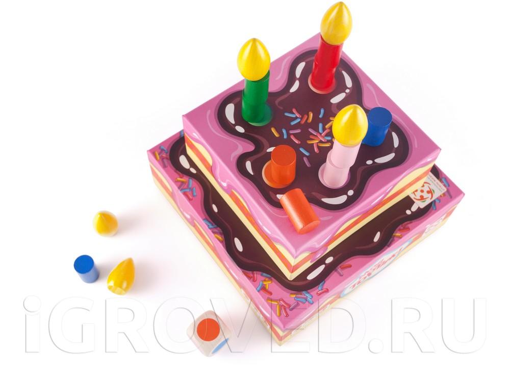 Компоненты настольной игры Мой тортик!