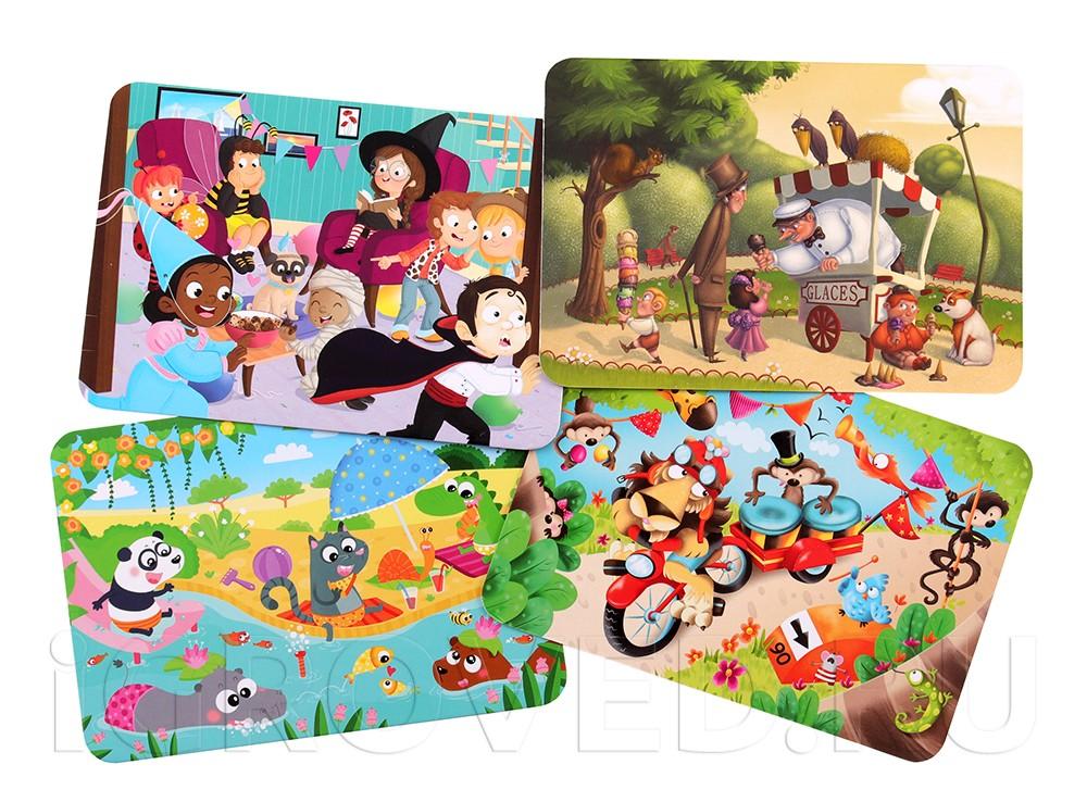 Виды карточек настольной игры Дифферанс для детей