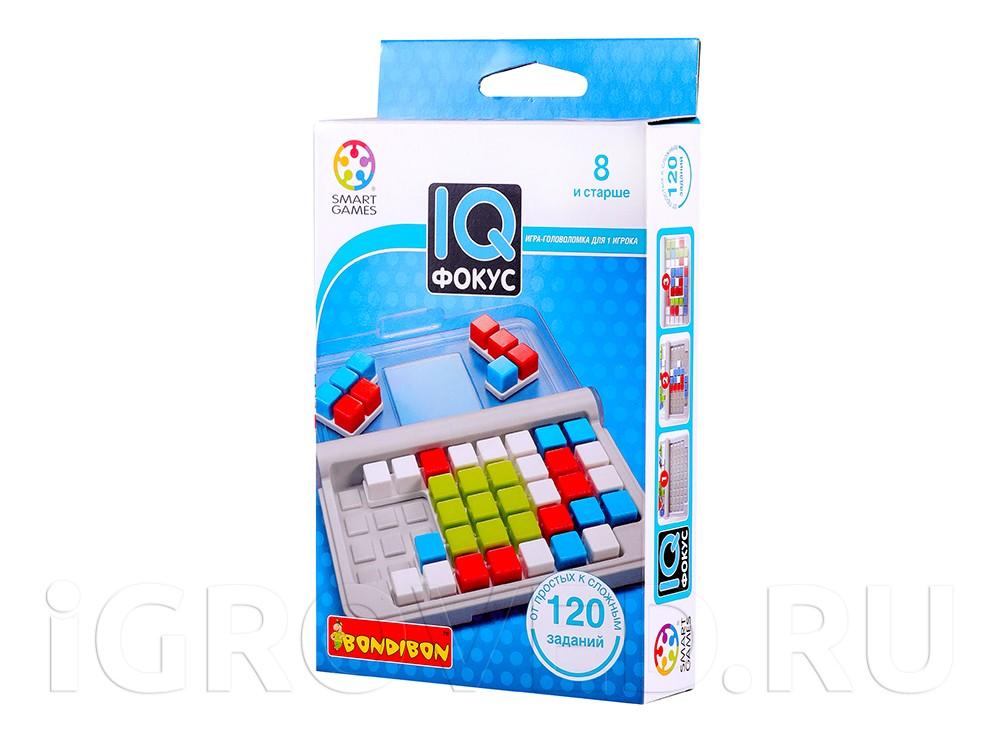 Коробка настольной игры-головоломки IQ-фокус