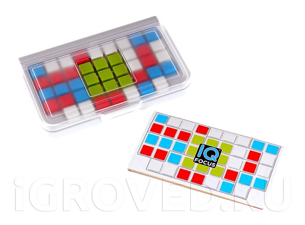 Элементы настольной игры-головоломки IQ-фокус