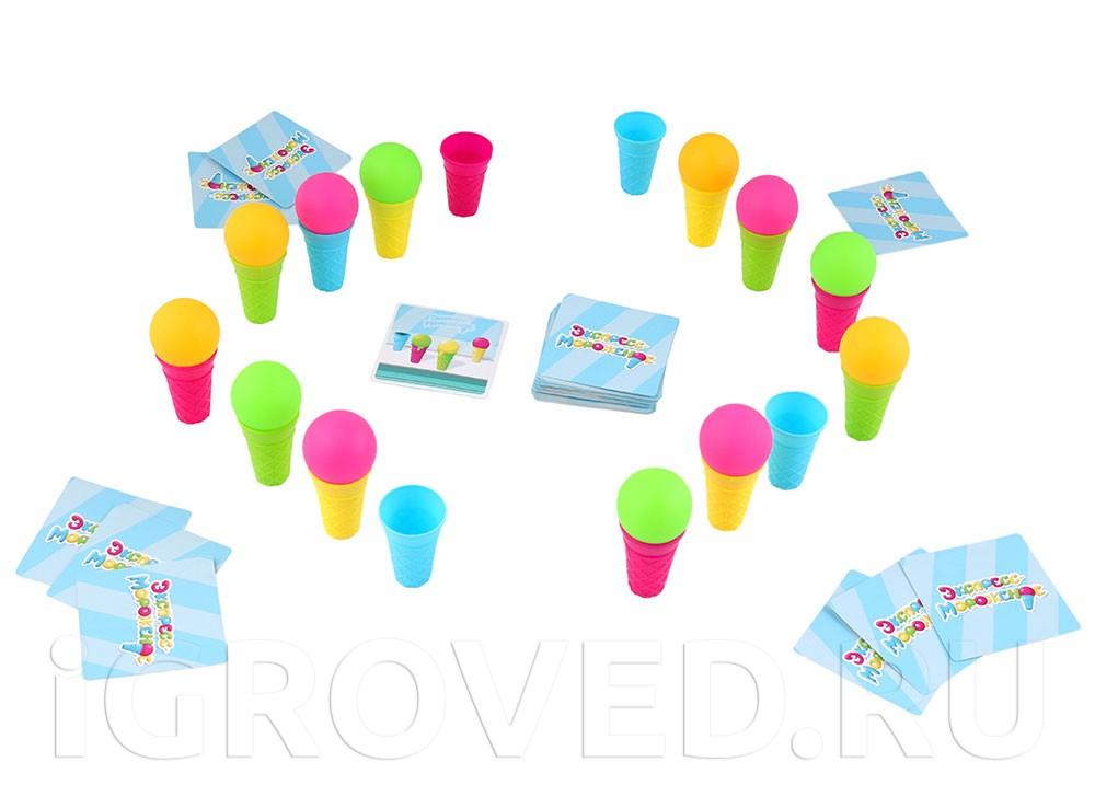 Игровой процесс настольной игры Экспресс-мороженое