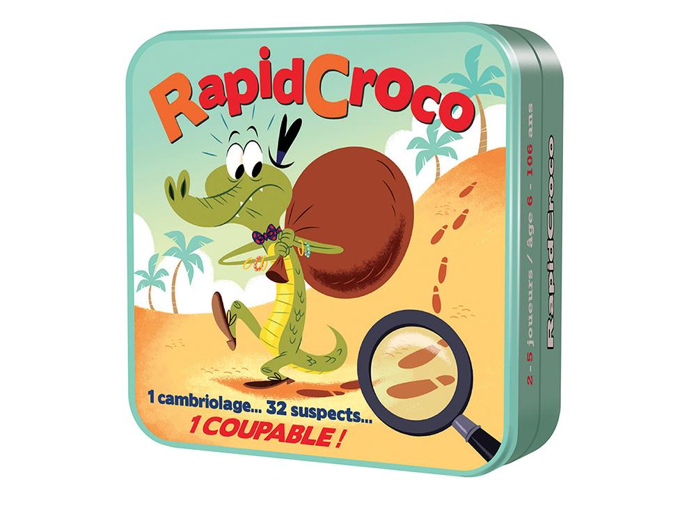 Коробка настольной игры Крокогонки (Rapidcroco)
