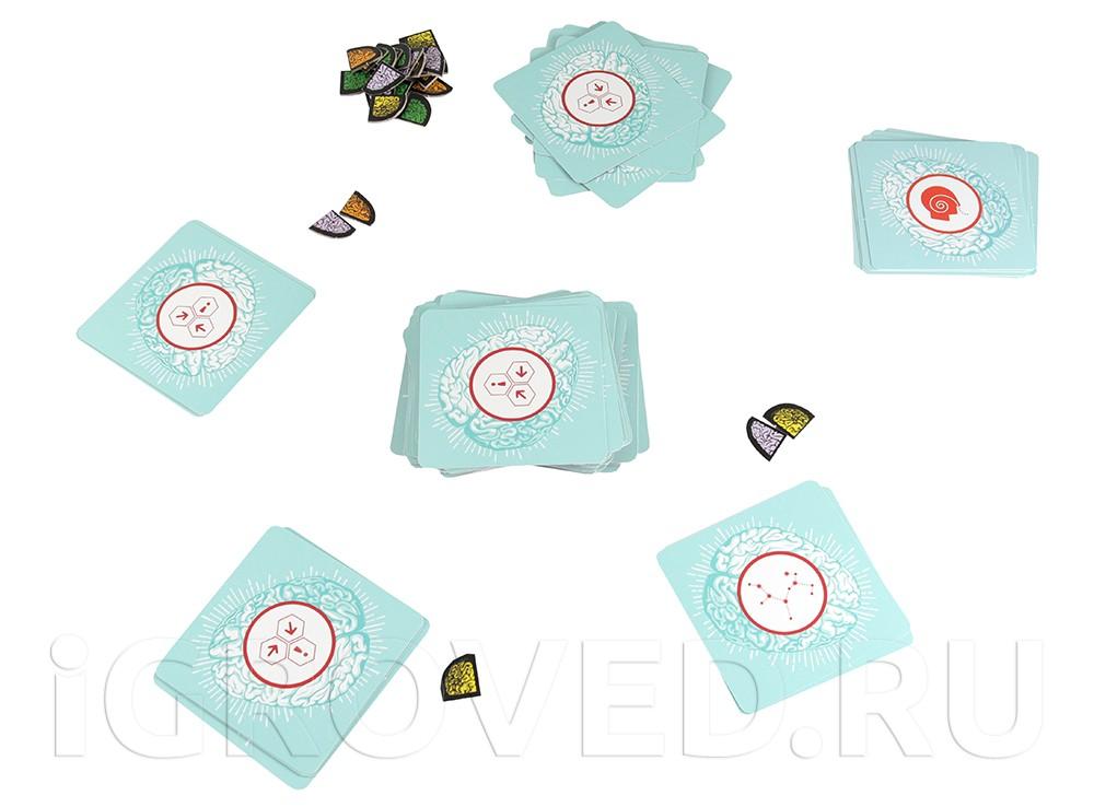 Игровой процесс настольной игры Кортекс 3