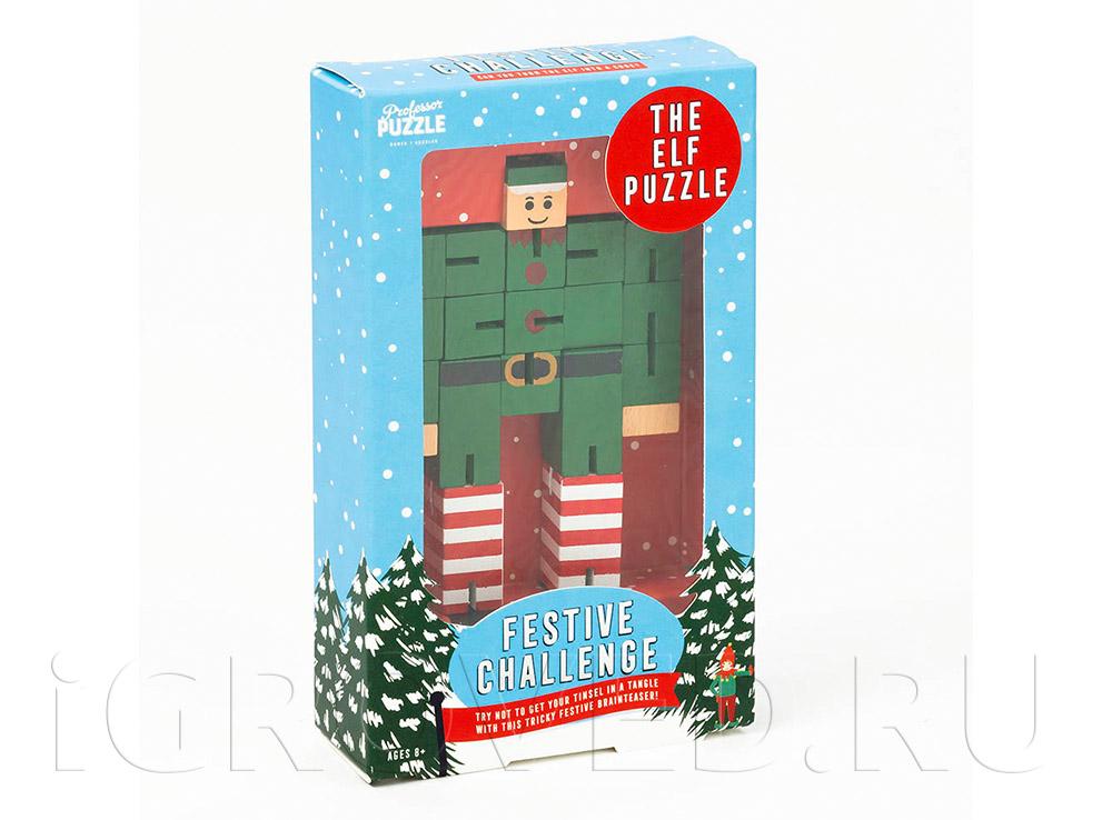 Коробка  настольной игры Профессор Пазл: Эльф