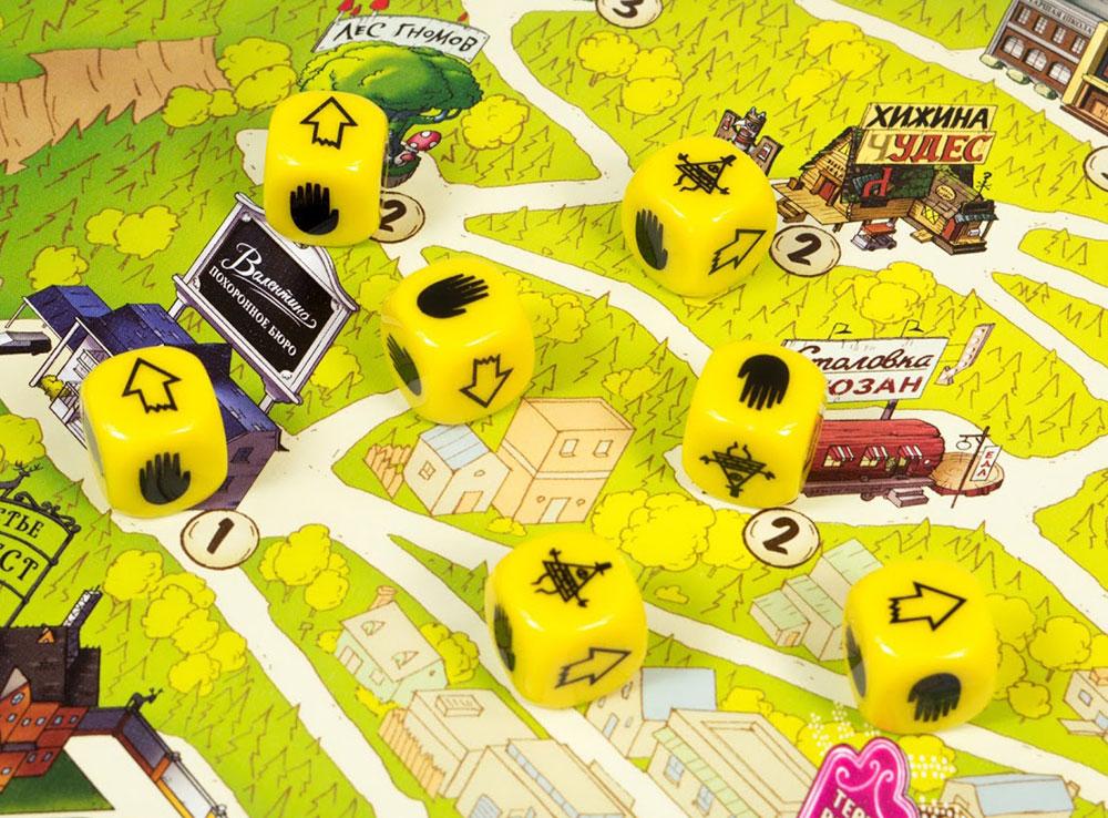 Кубики  настольной игры Гравити Фолз