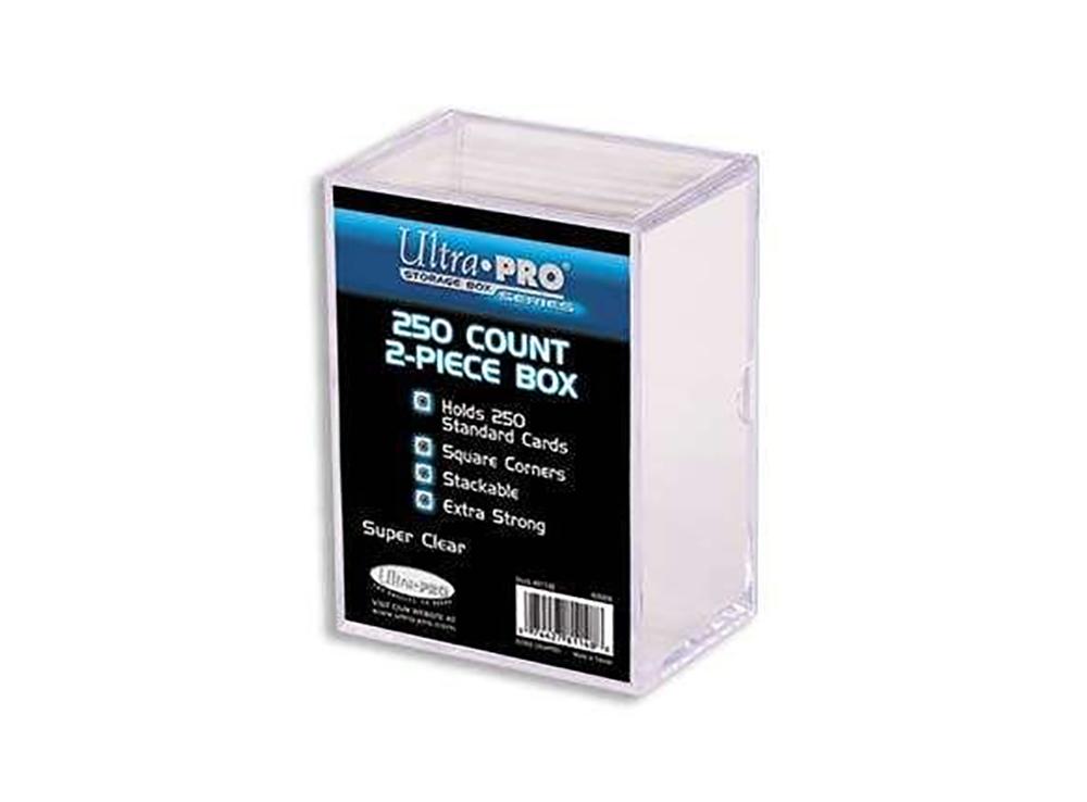 Коробочка для хранения игр Ultra Pro прозрачная на на 240 карт с 4-мя отделениями