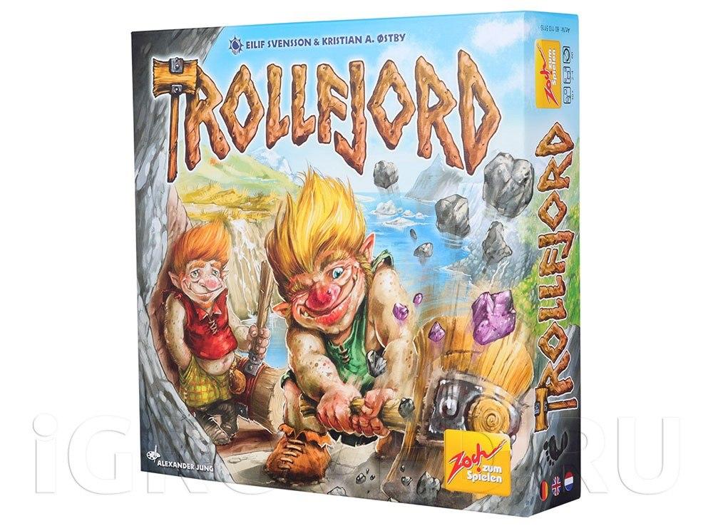 Коробка настольной игры Молот Троллей (Trollfjord)