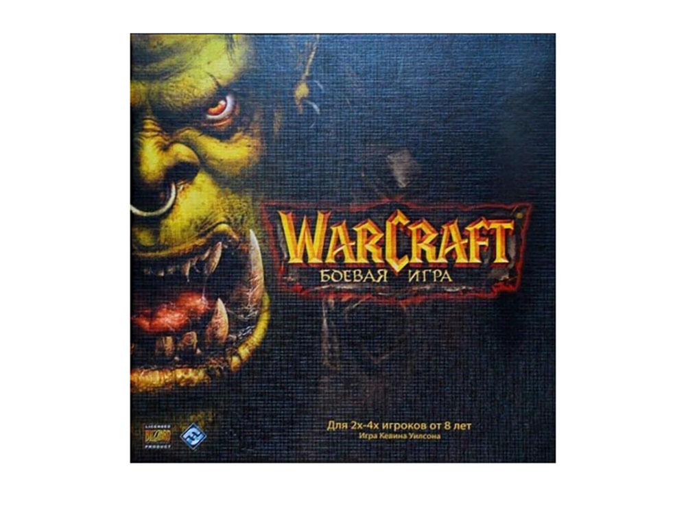 Коробка настольной игры Warcraft: Боевая игра