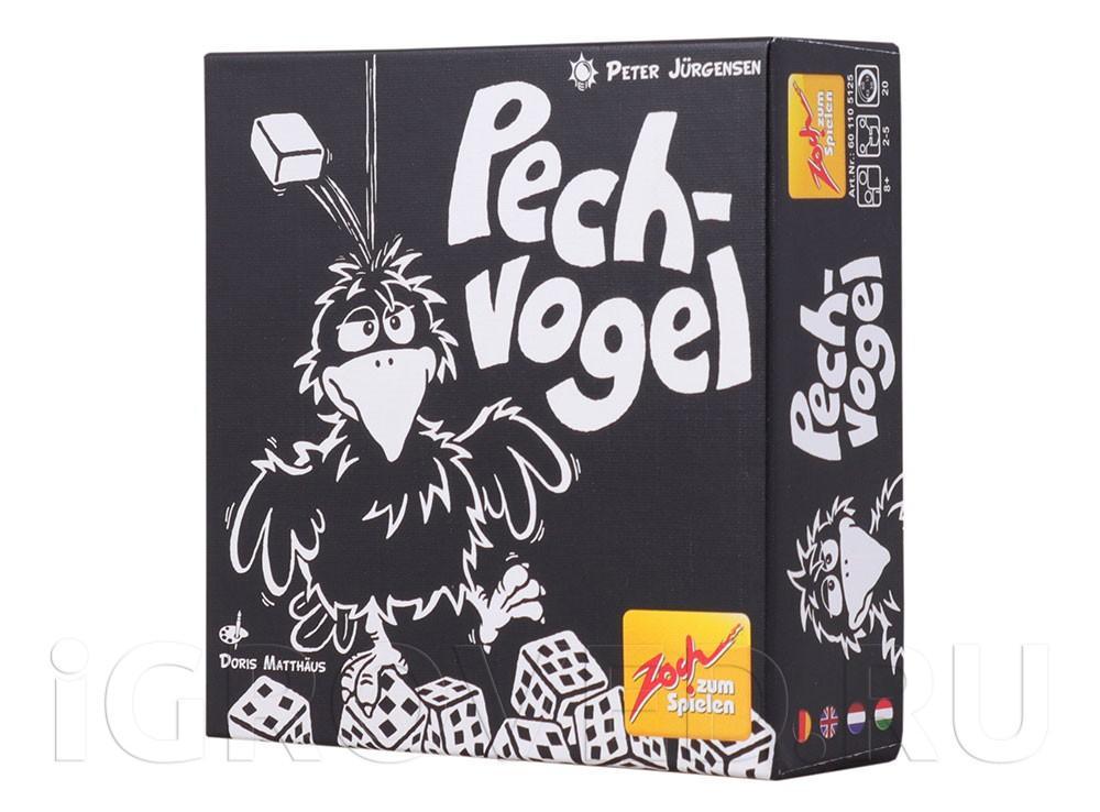 Коробка настольной игры Чёрный Ворон (Pechvogel)