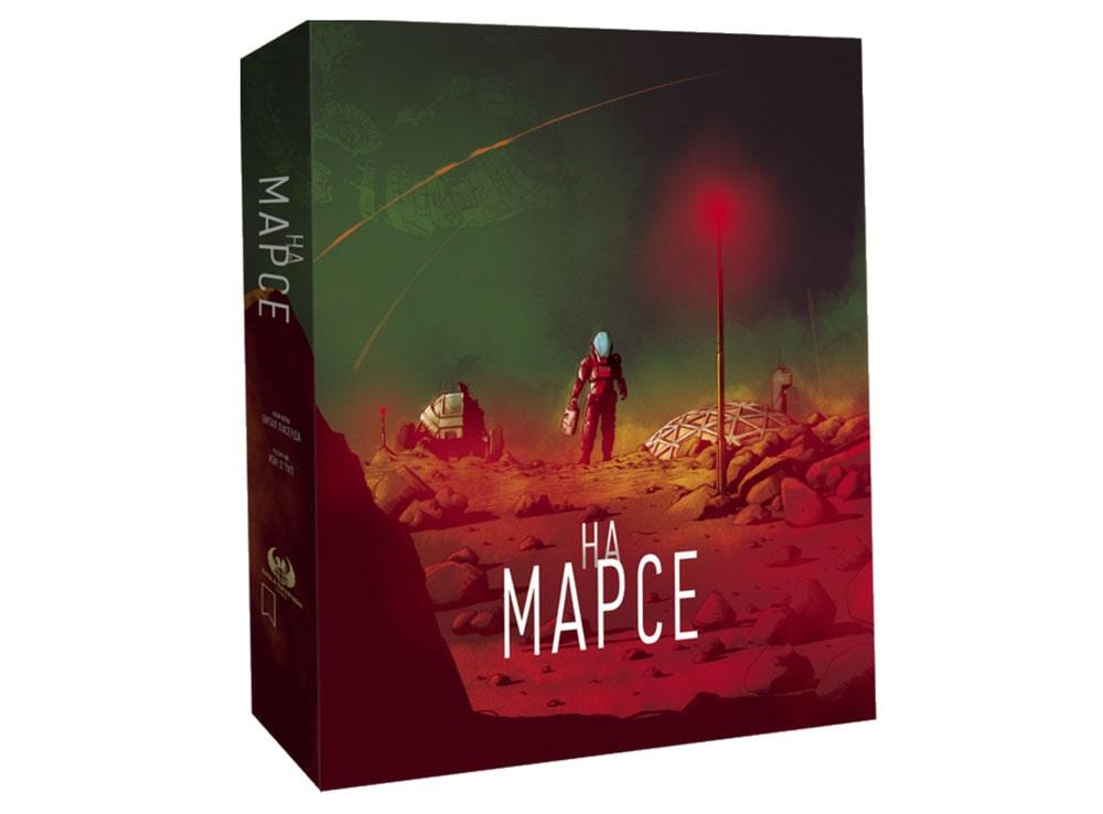 Коробка настольной игры На Марсе