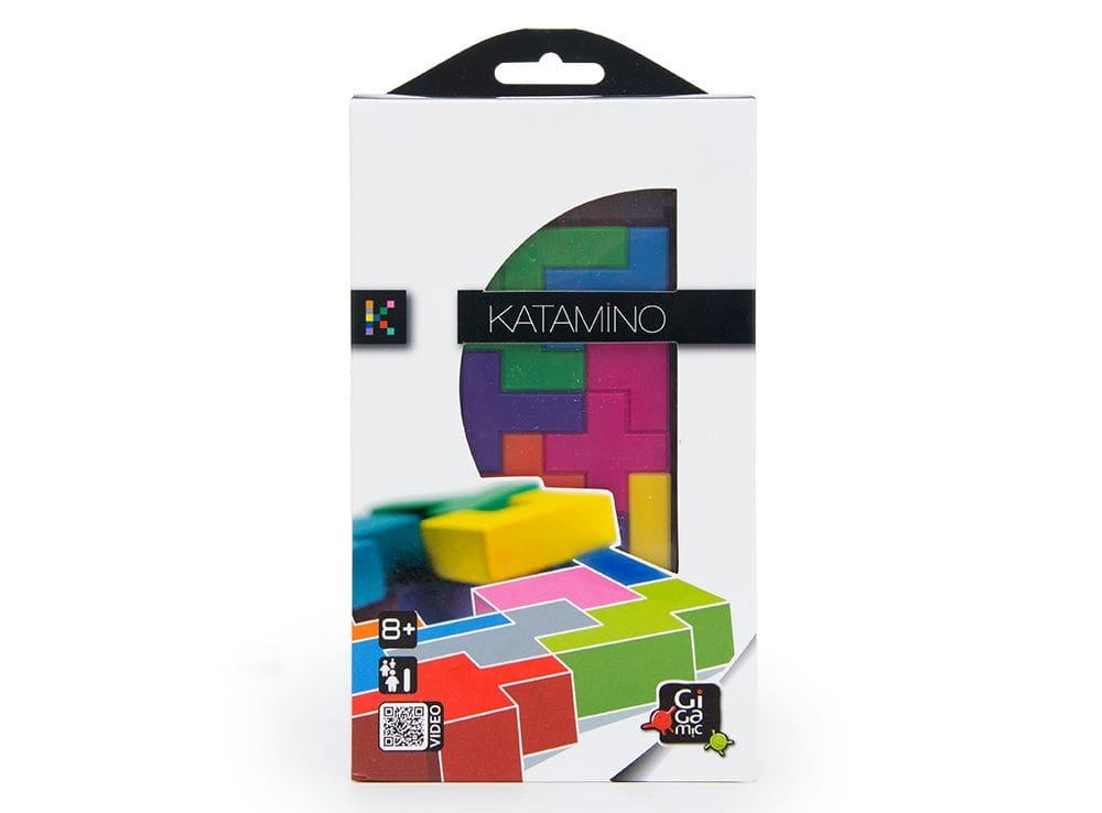 Коробка настольной игры Катамино дорожная (Katamino travel)