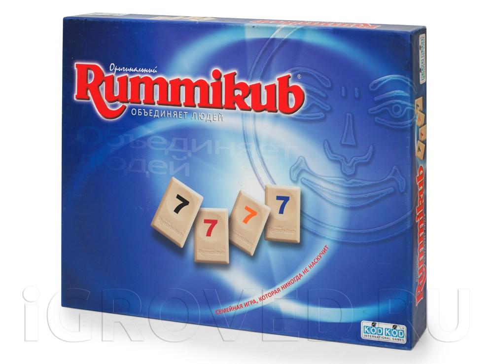 Коробка настольной игры Руммикуб (Rummikub)