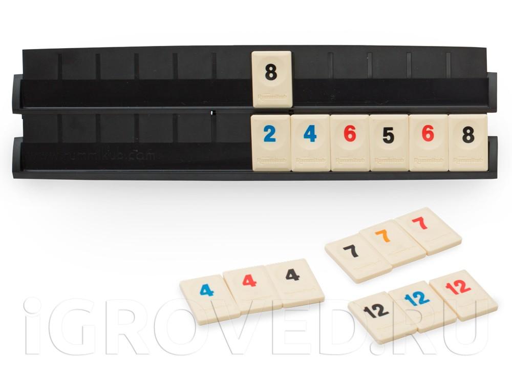 Игровой процесс настольной игры Руммикуб (Rummikub)