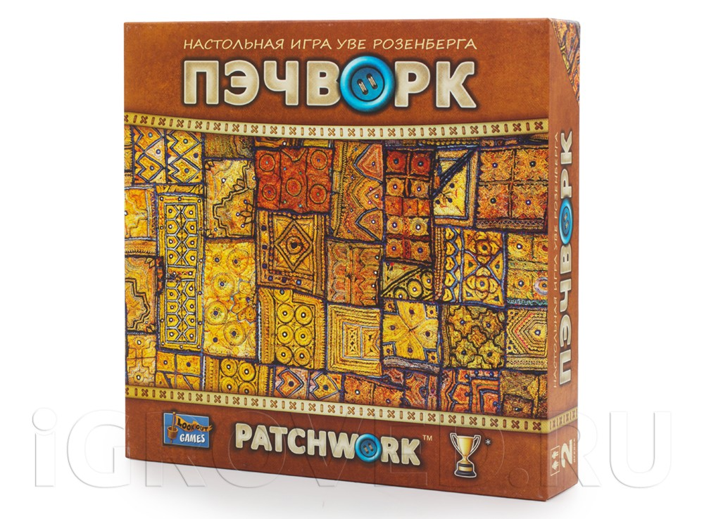 Коробка настольной игры Пэчворк (Patchwork)