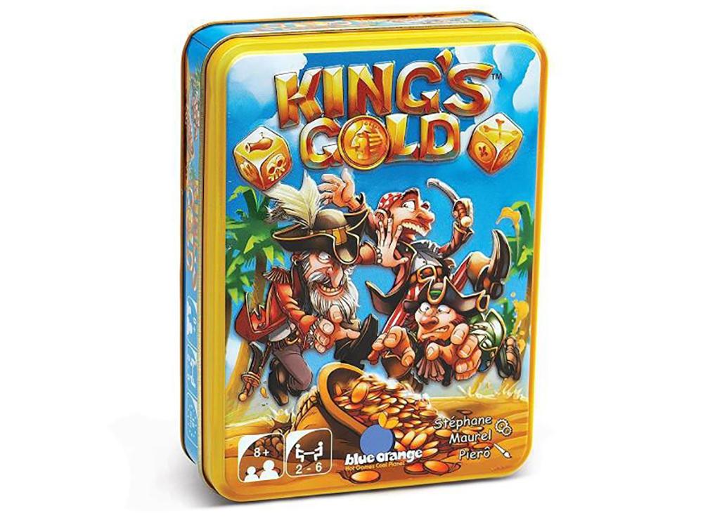 Коробка настольной игры Королевское золото (KING'S GOLD)