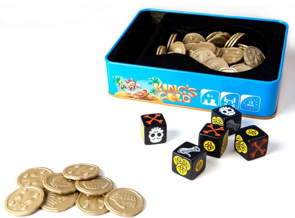 Компоненты настольной игры Королевское золото (KING'S GOLD)