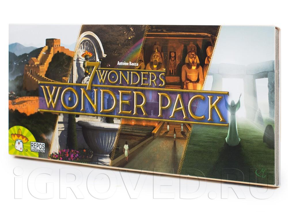 Игра 7 Wonders: Новые чудеса (7 Wonders: Wonder Pack, дополнение)
