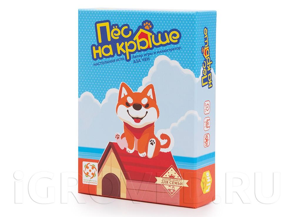 Коробка с настольной игрой Пёс на крыше (Shiba-inu house)