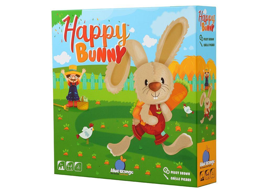 Коробка настольной игры Удачливый кролик (Happy Bunny)