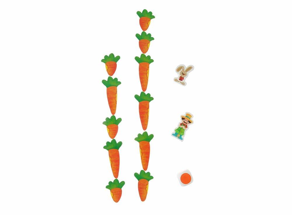 Компоненты настольной игры Удачливый кролик (Happy Bunny)