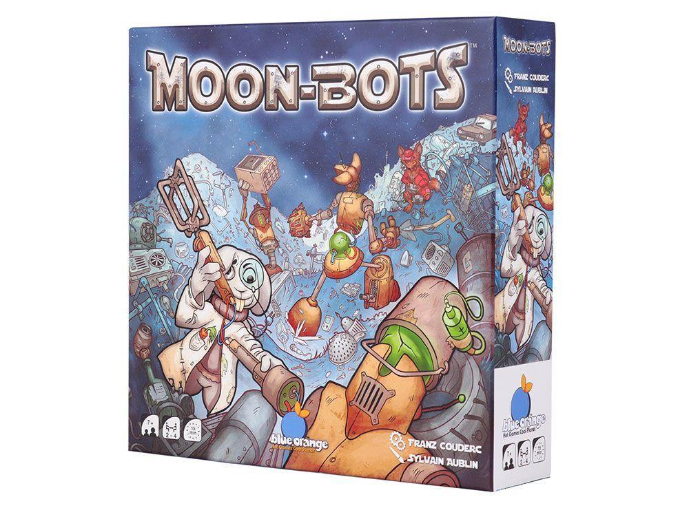 Коробка настольной игры Луноботы (Moon bots)