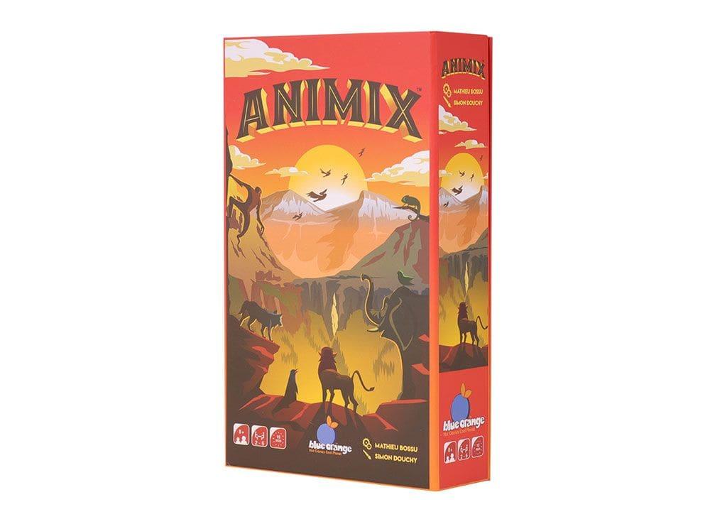 Коробка настольной игры Анимикс