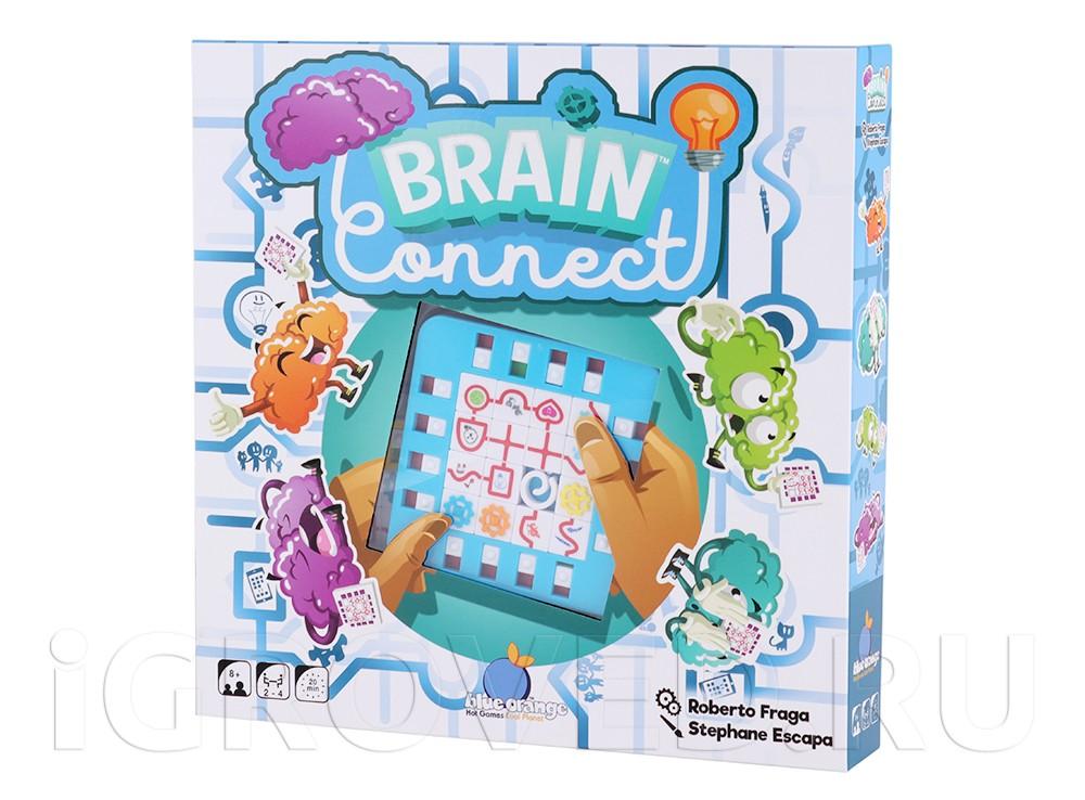 Коробка настольной игры Зарядка для мозга (Brain Connect)