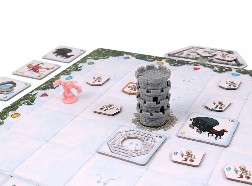 Игровой процесс настольной игры Незваные кости