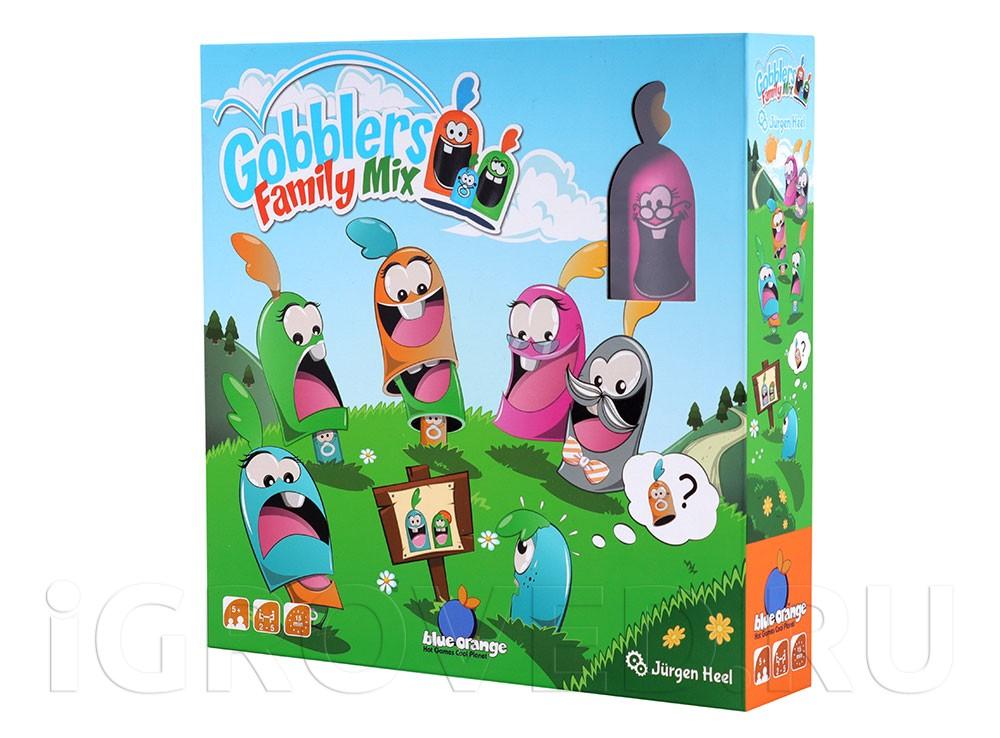 Коробка настольной игры Гобблет: Семейные прятки
