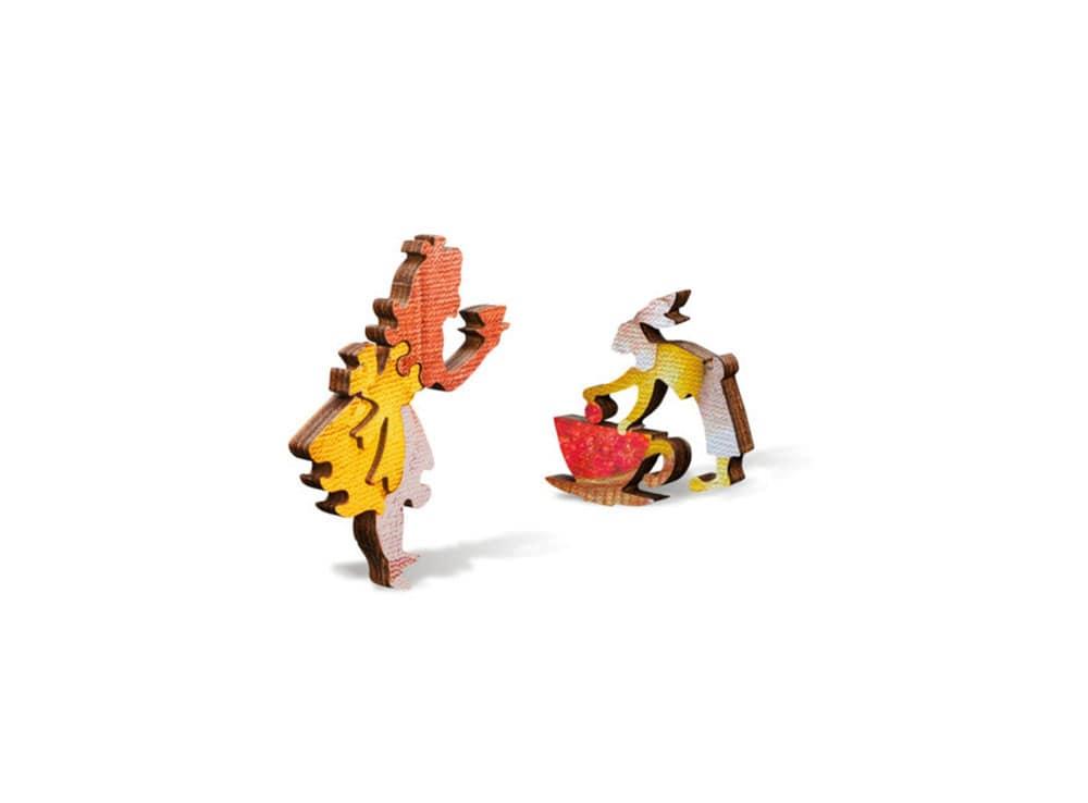 Фигурки пазла Безумное чаепитие