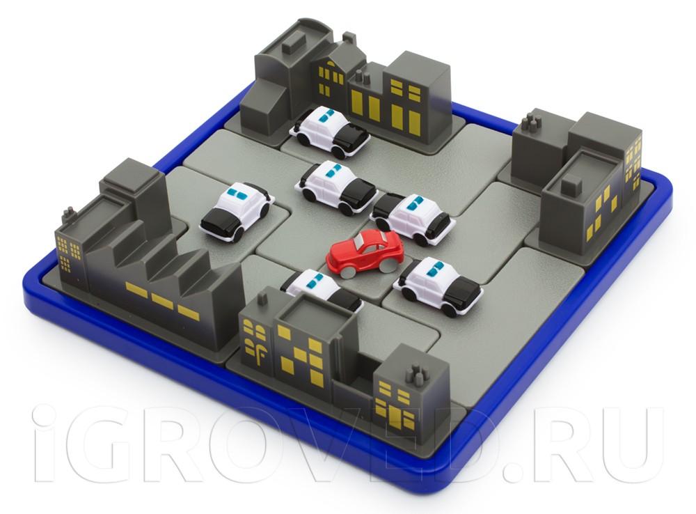 Игровое поле настольной игры-головоломки Операция Перехват
