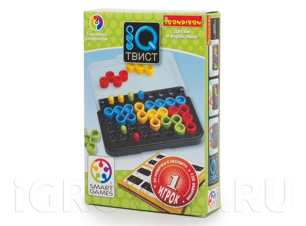 Коробка настольной игры-головоломки IQ-Твист