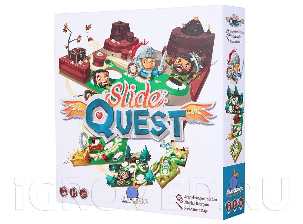 Коробка настольной игры Путь рыцаря (Slide Quest)